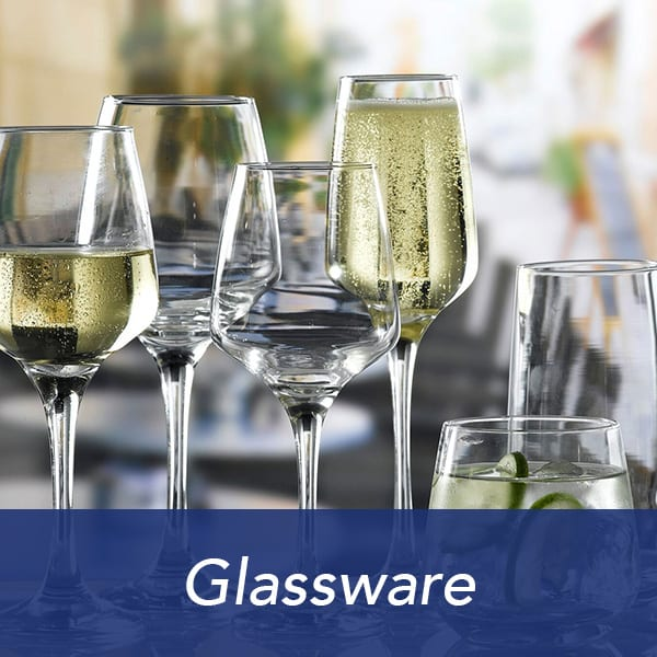 Glassware items