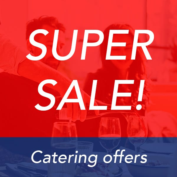 Catering items on sale