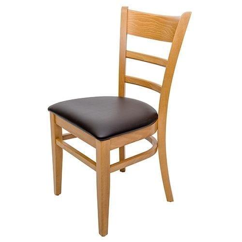 Hudson Oak side chair
