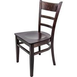 Hudson Walnut side chair