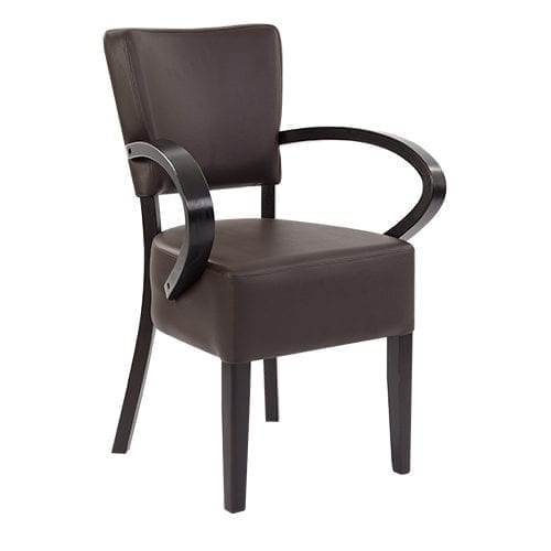 Sena Armchair Dark Chestnut