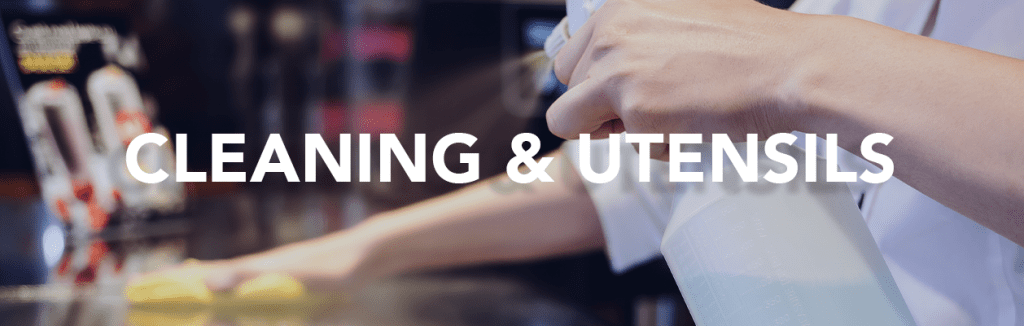 cleaning and utensils for the catering industry