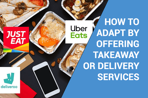 How catering companies can adapt by offering takeaway or delivery services