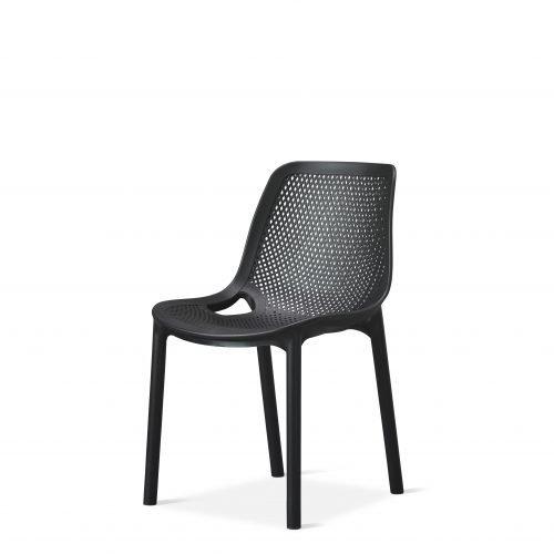 Cruz - Side Chair - Black