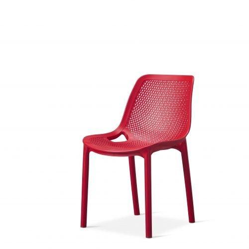 Cruz - Side Chair - Red