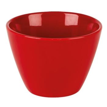 Red Simply & Spectrum Conic Bowl 12oz SPECIAL