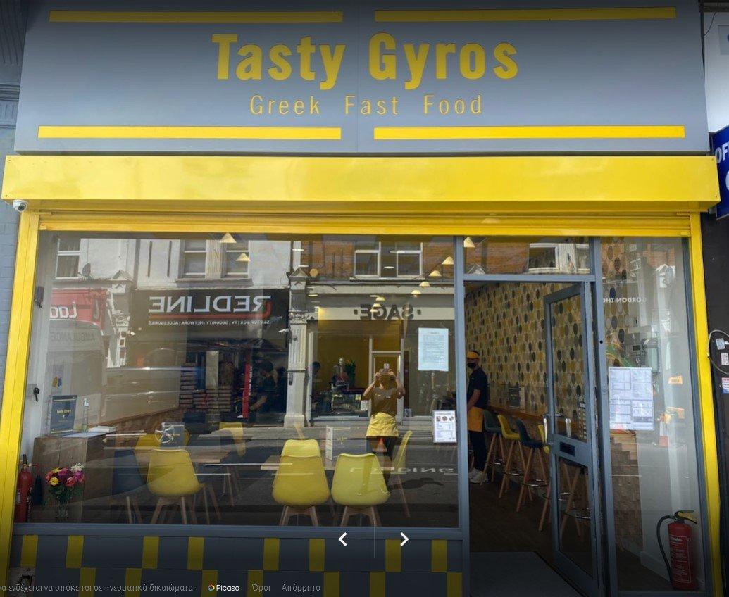Tasty Gyros Front